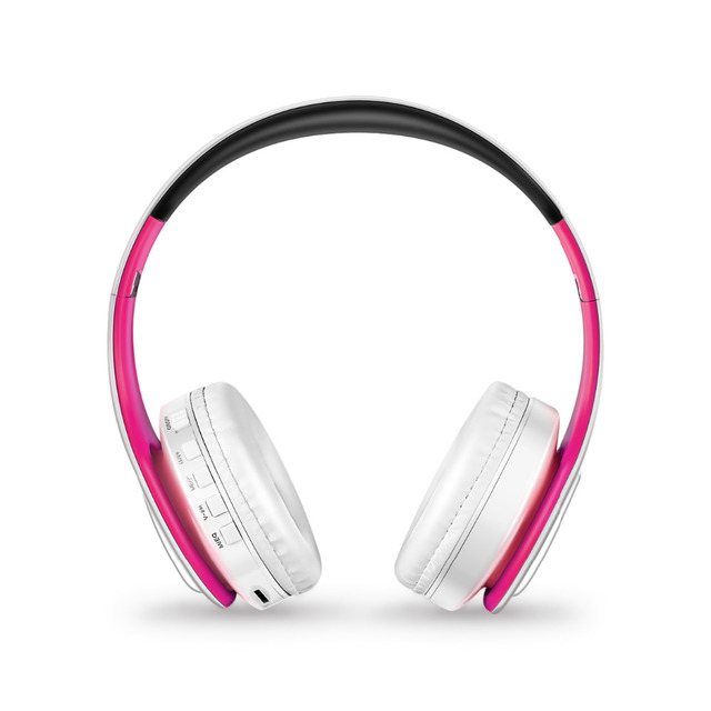 Bluetooth Headphones Stereo Foldable Sport Earphone with Microphone 2
