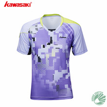 2019 Professional Kawasaki Breathable Badminton T-Shirt Quick Dry Sport Clothing Jersey For Men And Women ST-S1107(China)