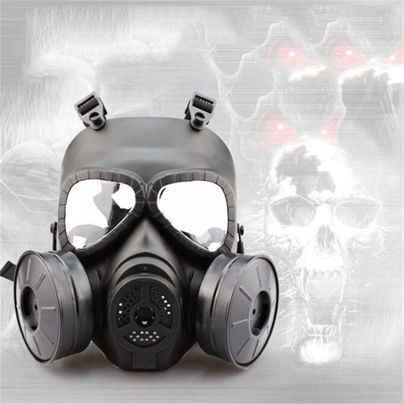 WoSporT Tactical Skull V4 Avengers Cosplay Toxic Full Face M04 Military CS Wargame Airsoft Paintball Safety Gas Mask Halloween