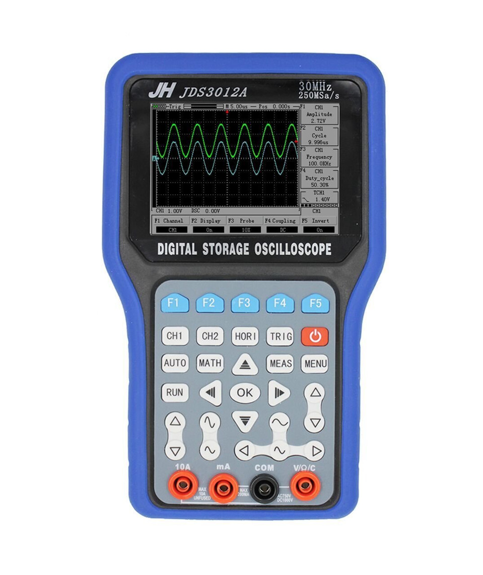 все цены на JDS3012A JinHan Series Handheld Digital Storage Oscilloscope and Digital Multimeter, 30MHz, Single Channel,250MS/s онлайн
