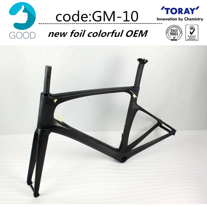 popular new model carbon bike frame 47495254cm pf30bb30 carbon frame road good quality many colors cadre carbone oem