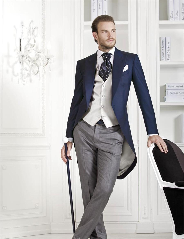 Online Shop (Jacket Vest Pant Tie Handkercjiefs) 2017 Mens Cream ...