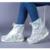 Mulheres trevo Ciclo de Chuva Sapato Cobre À Prova D' Água Wearable Engrossar Shoecovers Viagem Ao Ar Livre À Prova D' Água Sapatos de Chuva Cobre