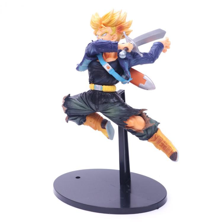 anime figure game Dragon Ball Z BWFC Super Saiyan Trunks Figure PVC Action Figure Model Dragonball Trunks Toys