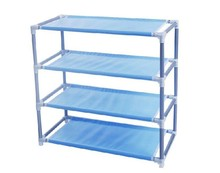 Combined simple 4-layer shoe rack four layers Dust-free multi-layer