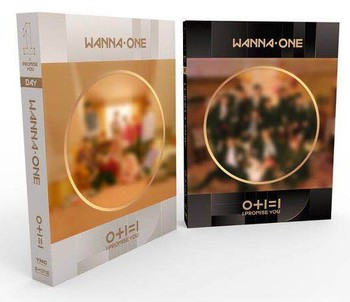 [MYKPOP]~100% OFFICIAL ORIGINAL~ WANNA ONE 2 0+1=1(I PROMISE YOU) Album CD Set  KPOP Fans Collection- SA19021602