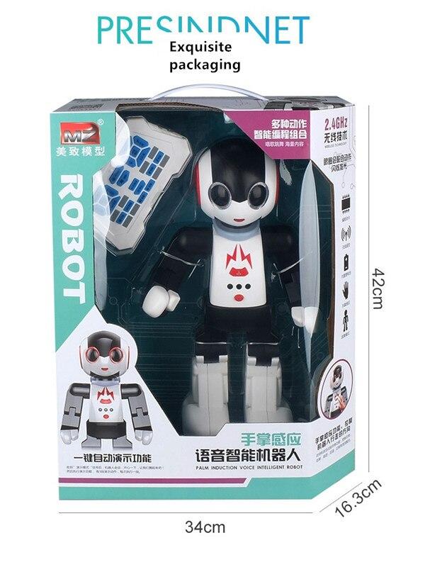 Neue 2,4 Ghz rc fernbedienung intelligente smart roboter humanoids roboter palm induktion Spielzeug pädagogisches spielzeug walking tanzen roboter - 6