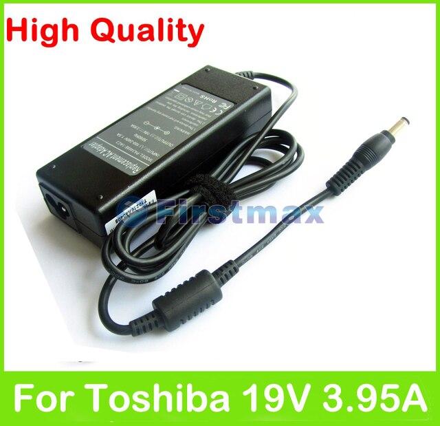 75W 19V 3.95A AC power adapter supply for Toshiba Satellite U400 U405 R945 S40 U305 Tecra R10 R950 charger