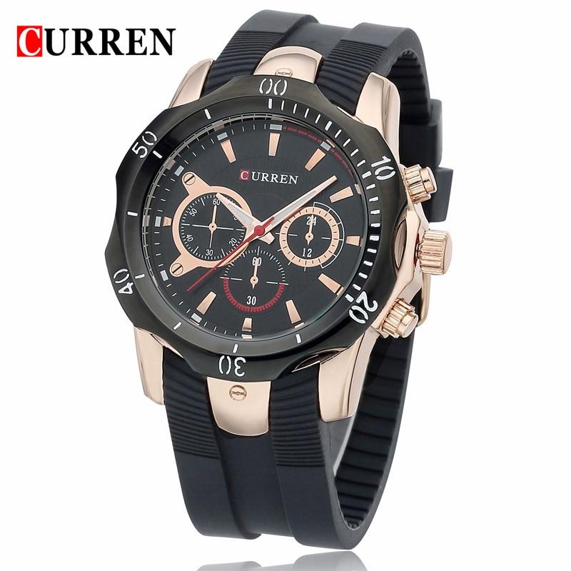 Curren кварцевые наручные часы для парней 3 раза в неделю