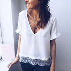 Solid Short Sleeve w...
