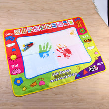 Coolplay 80 x 60cm Water Drawing Mat Toys Large Size Painting Board with 2pcs Magic Pen Outdoor and Indoor Drawing Toys for Kids