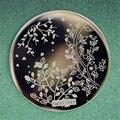 Искусства ногтя Штамповка Изображения Шаблона Плиты Тиснением Текстуры # Qgirl-049