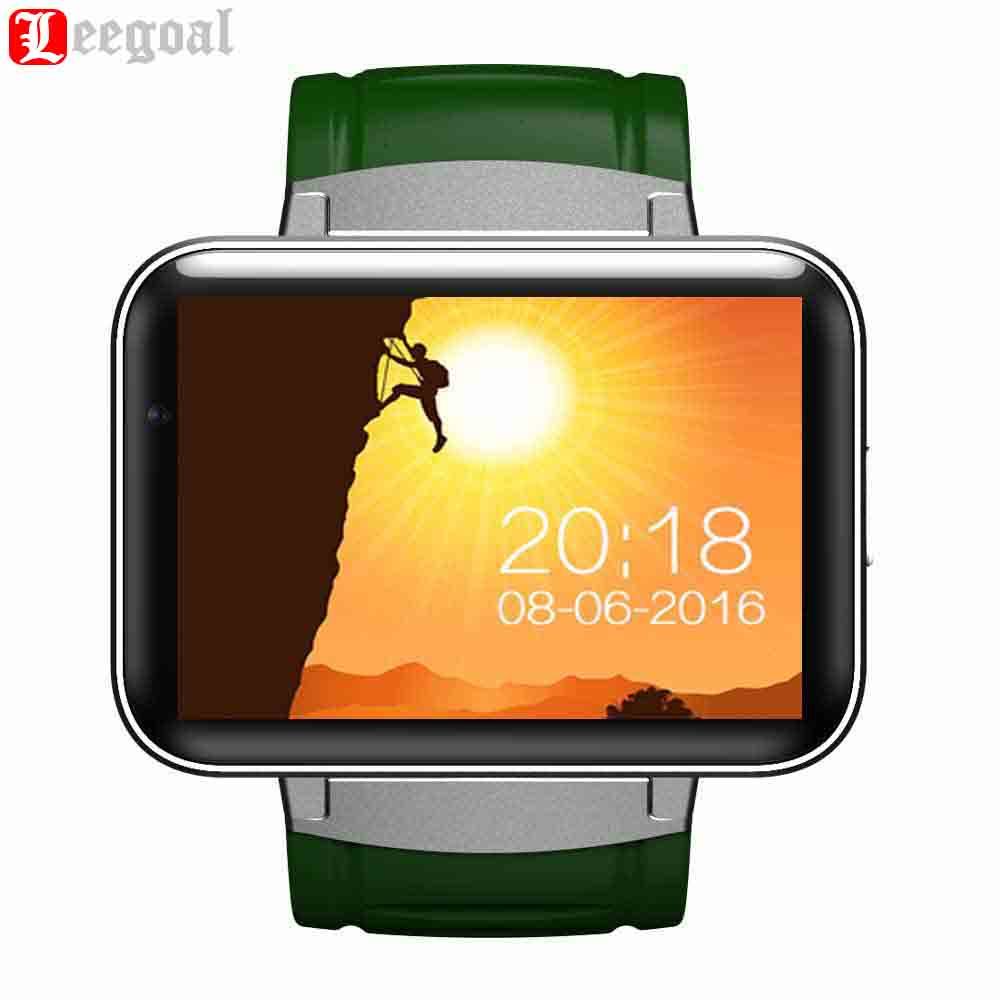 Bluetooth Smart Watch DM98 MTK6572 2G/3G SIM Card Camera Clock Smartwatch Wristwatch Sleep Fitness Tracker GPS Wifi Smartphone smart baby watch q60s детские часы с gps голубые