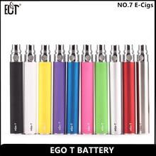 5pcs/lot ego t battery for best e cigarette kit e cigarette battery for ce4 ce5 mt3 rechargeable battery for wax vaporizer