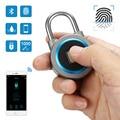 USB Перезаряжаемые IP65 Водонепроницаемый Смарт ключа RFID отпечатков пальцев замок Противоугонный замок безопасности для электронного дверно...