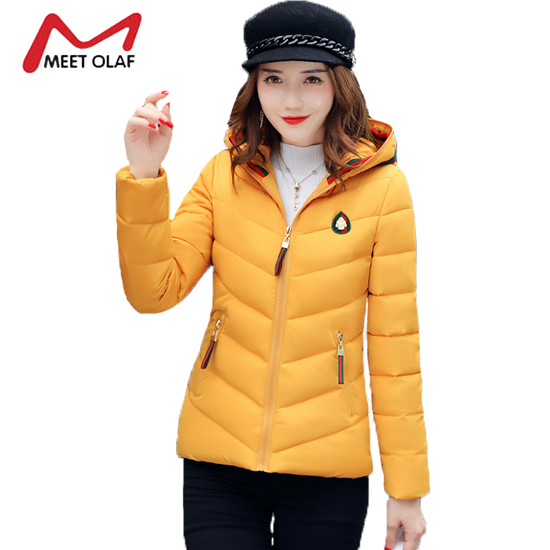 Winter Coats Women Winter Jacket Girls Students Autumn Hooded Parkas 2017 Female Wadded Overcoats abrigos mujer invierno Y1490 yobangsecurity wired video door phone 7 inch lcd video doorbell door chime home intercom system kit with rfid access ir camera