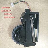 1 Pcs Original Left Wheel For Ilife V7 Ilife V7s Ilife V7s Pro Robot Vacuum Cleaner