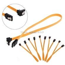 5 X Serial ATA SATA RAID ДАННЫХ HDD жесткий диск сигнальный кабель прямой-под прямым углом Z09 Прямая поставка