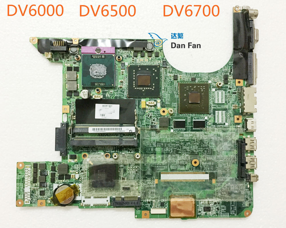 Mainboard Pavilion DV6000 446476-001 HP Laptop for Dv6000/Dv6500/Dv6700 DA0AT3MB8F0 100%Tested