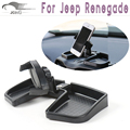 Car Mobile Phone Holder Stand for Jeep Renegade 2015 2016  Adjustable Car Phone Holder Mount New Style Black