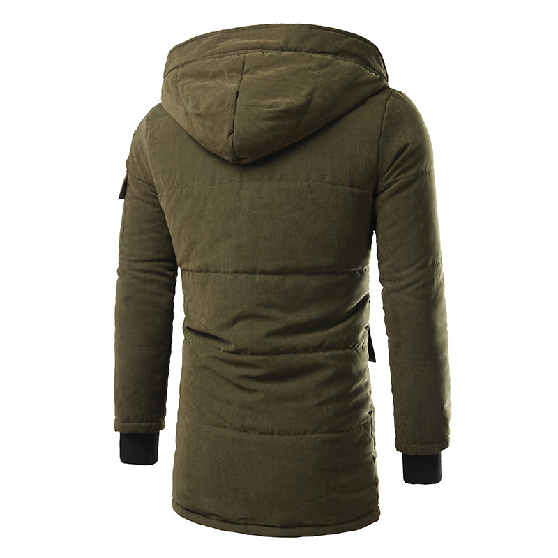 a91af7f3c Men's winter new high quality slim hooded men TOP thickening in the long  coat jacket tide-in Parkas from Men's Clothing on Aliexpress.com | Alibaba  Group