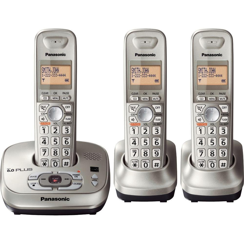 KX TG 4021 DECT 6.0 Plus Cordless Phone With Answering