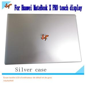 Image 2 - Para huawei matebook x pro MACH W19 w29 13.9 inch tela sensível ao toque lcd monitor 3k tela 3000x2000 substituição de tela inteira superior