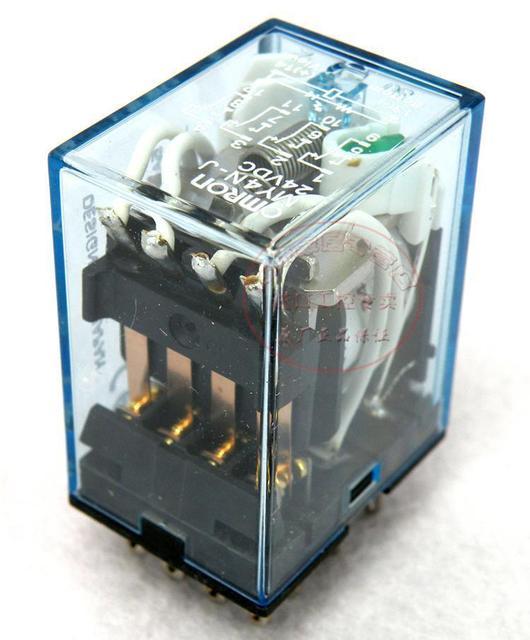US $2.0 |OMRON Intermediate relay MY4NJ MY4N J 24VDC 12vdc 14 pin-in Omron My N Vdc Wiring Diagram And on