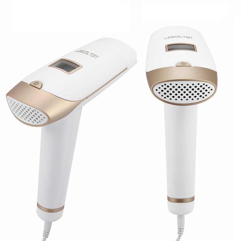 Lescolton depiladora láser IPL 1300000 pulsos cabello pantalla LCD máquina T009i permanente Bikini Trimmer eléctrico depilador
