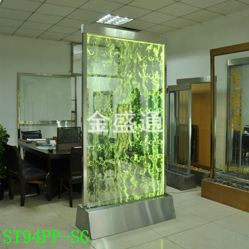 Home LED Decration Light With Water Bubble ,panel Wall Divider,water Bubble Screen,Bubble Fountain