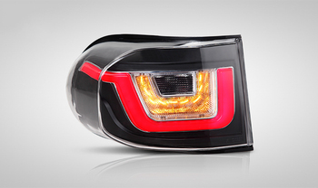 V1 type 2PCS/SET 2012-2015 for Toyota FJ Cruiser LED Tail lights facelift Reverse Lights Rearlights
