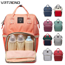 VRTREND New Baby Diaper Bag Waterproof Mummy Maternity Nappy Bag Large Capacity Baby Bag Travel Backpack Designer Nursing Bag
