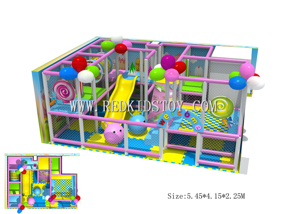 Exported to Turkey Safety Kindergarten Soft Playground CE Approved Nursery Indoor Play System 150623b