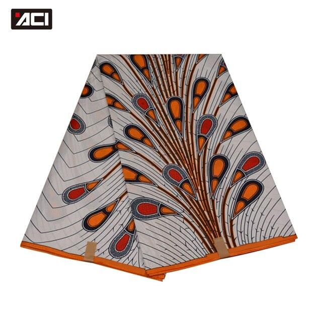 ACI Free Shipping ! Best Selling Ankara African Wax Print Fabric,Dutch Wax Fabric African Real Wax Prints Fabric Hollandais Wax 1