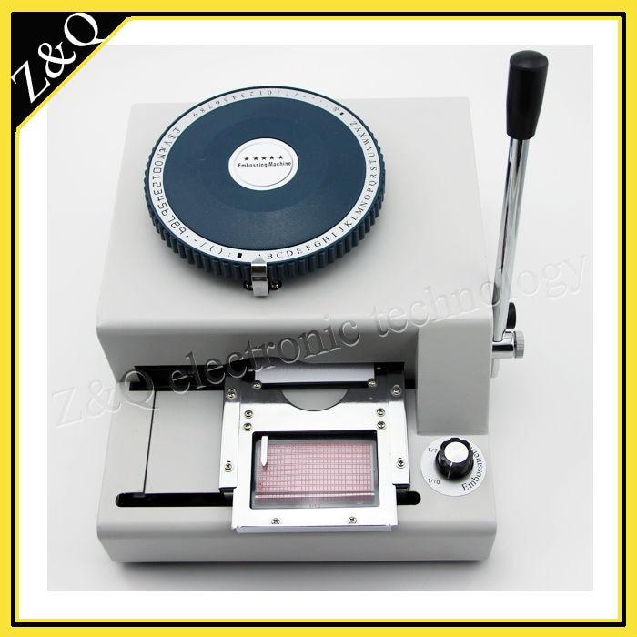 Dog Tag Press Embosser Machine Manual 62D Characters