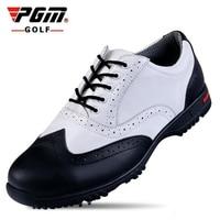 PGM 소 골프 신발 방수 통기성 남성 야외 스포츠 신발 미끄럼 방지 슈퍼 빛 좋은 그립