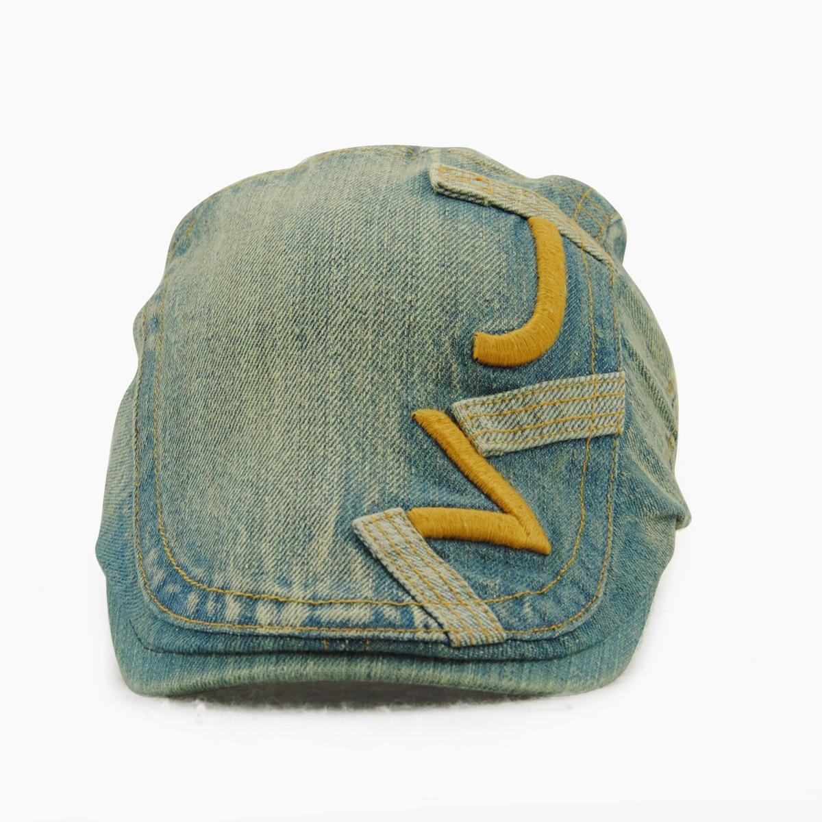 3fd7423415e60 Male Pure Cotton Peaked Cap Men Sun Hat Adult Outdoors Newsboy ...