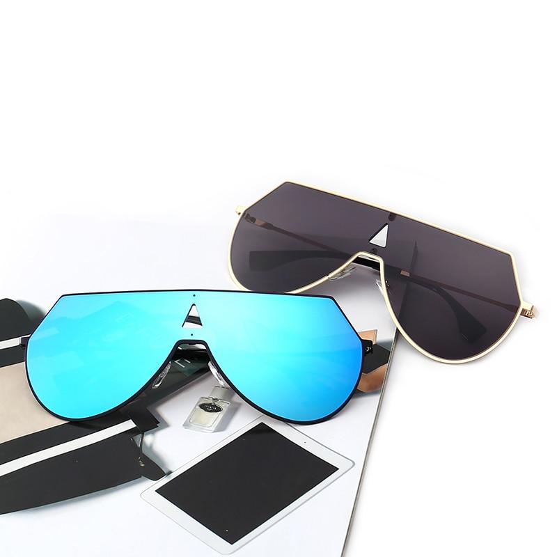 J N Fashion Vintage Mirror Sunglasses Women Metal Reflective Cat Eye Sun Glasses For Women Brand Design T3270
