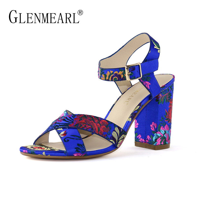 Sexy Women Sandals High Heels Shoes Summer Peep Toe Ankle Strap Sandals Woman Thin Heels Brand Dress Shoes Female Plus Size DE summer 2016 nigerian shoes and matching bags pink leather high heels fringed peep toe sandals eur33 43 womens dress shoes chunky