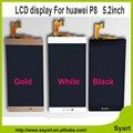 1/PCS P8 Display LCD + Digitador Da Tela de Toque Do Painel de Vidro Para Huawei Ascend P8 lcd Substituição De 5.2 polegada