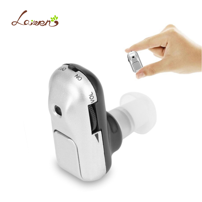 Laiwen Mini Hearing Aid Hearing Aids Device In-ear Cheap Sound Amplifier for the Deaf Ear Sound Voice Amplifier Hearing Aid christams gift hearing aid aids cheap digital hearing amplifier ear care sound clear voise volume control s 100a super mini