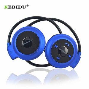 Image 2 - Kebidu TF + FM + MP3 Nekband Elastische Gevouwen Hoofdtelefoon Draadloze Headset Oortelefoon Handsfree Sport Mini Bluetooth 5 Kleuren Beschikbaar