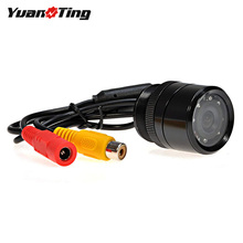 YuanTing авто парковочная камера ИК инфракрасного ночного видения 28 мм отверстие пилы водонепроницаемый для заднего вида монитор стерео