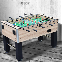 TB MINI001 5567 Eight Bar Soccer Table Board Game Football Machine Tabletop Soccer Game With Cup Holder Indoor Game For Adult