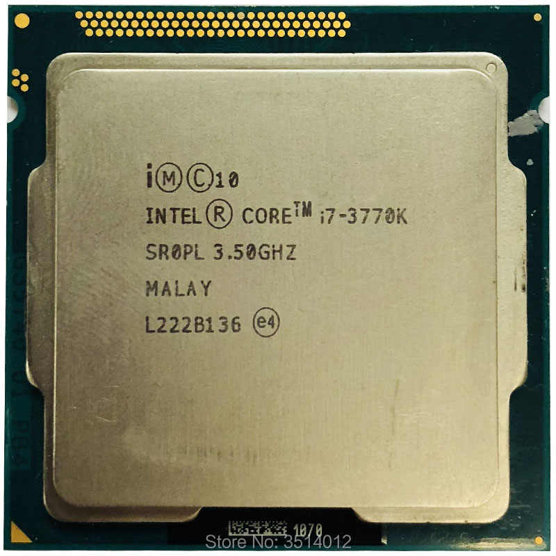 Detail Feedback Questions about Intel Core i7 3770K i7 3770K