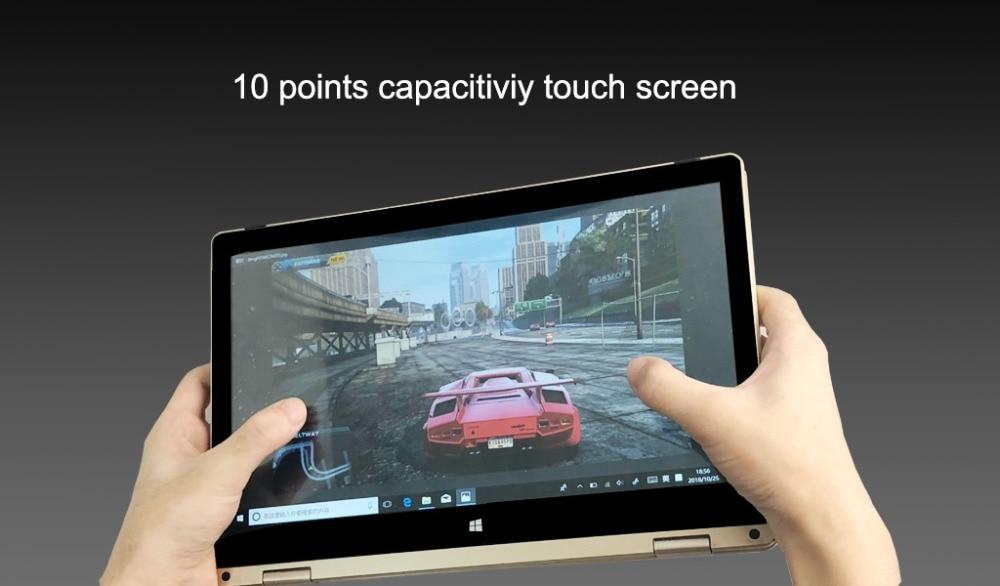 11.6 inch 2 in 1 convertible touch screen Netbook 8GB RAM 1920X1080 IPS Screen 192GB dual band wifi iTSOHOO 360 degree laptop 19