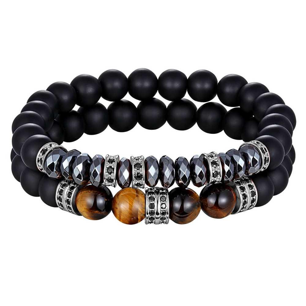 XQNI nowy klasyczny zestaw do bransoletek 12 stylów wybór połączenie regulowany stojak bransoletka z koralików biżuteria ręczna na prezent urodzinowy