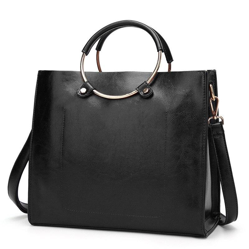 ITSCOSY Design Women s Genuine Leather Casual Tote Purse Fashion Shoulder Handbag Ladies Large Capacity font