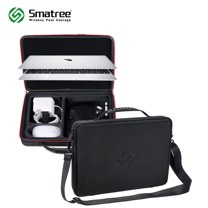 цена на Smatree Hard Bag Carry Case for Apple Macbook Air 13.3 inch,Macbook Pro 13 inch,12 inch with Shoulder Strap
