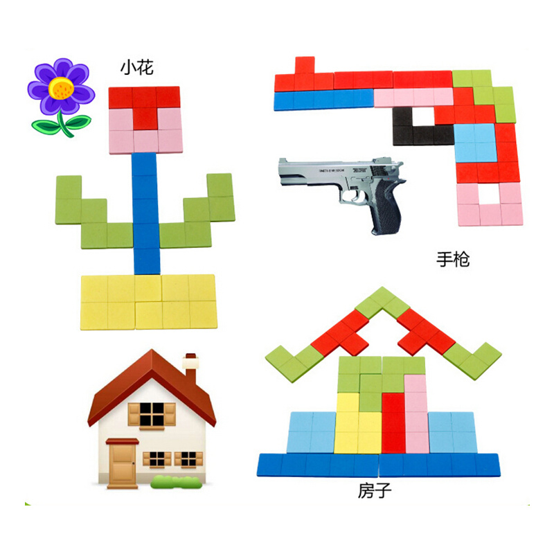 Toys & Hobbies Tetris Building Blocks Toy Balanced Building Blocks Puzzle Assembling Blocks Creativity Building Toys Dexterity For Kids Stacking Blocks